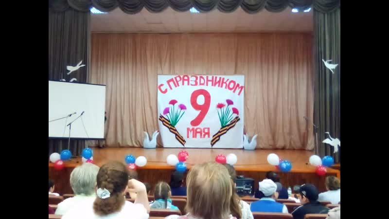 Дегтярёвский ДК концерт к дню победы танец Смуглянка танцуют Гузель Кульмаметова Розалина Муртазина и сёстры Пантилеевы