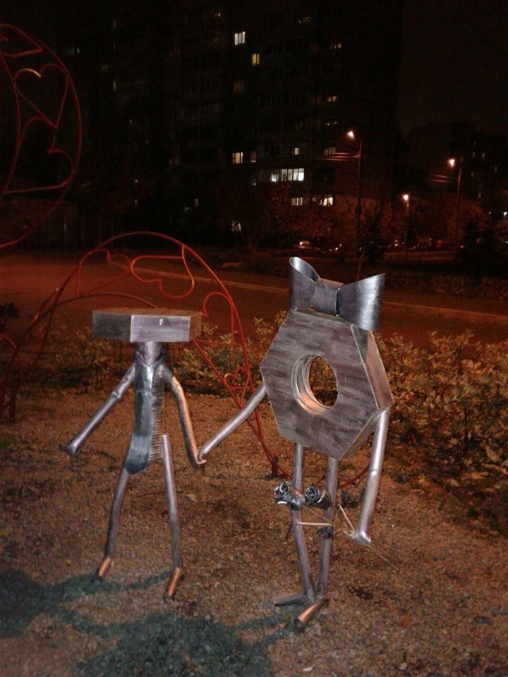 Народна творчість на вулиці Вербицького.
