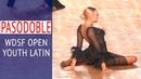 Ilya Zubenko Marina Podbolotova Pasodoble WDSF Open Youth Latin