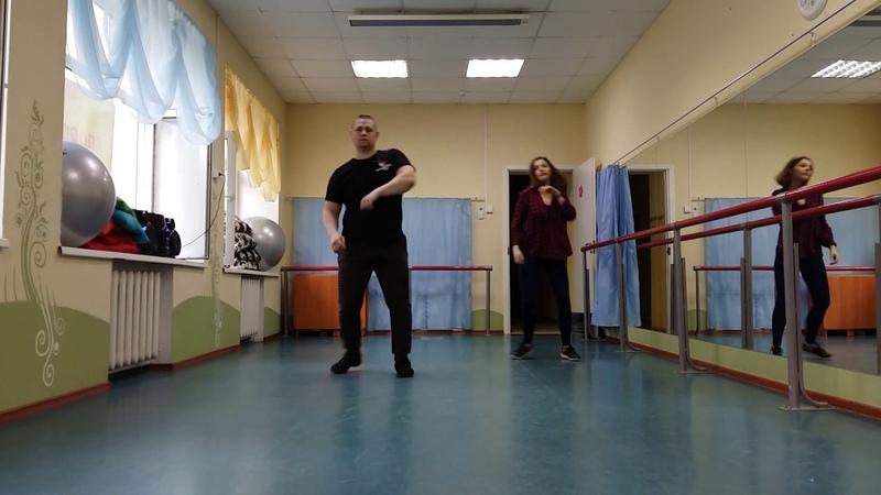 Crunkchata Omi Cheerleader Илья Вячеславов и Катя Пиир Bachata Moderna Footwork