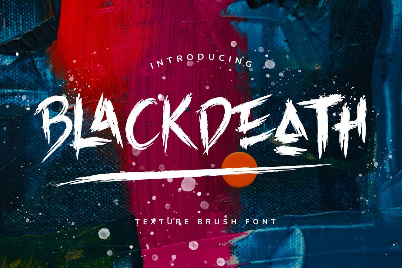 Шрифт - BLACKDEATH