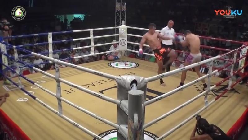 西提猜sittichai sitsongpeenong vs Emad Kadyear The Fight League Quarter 高清