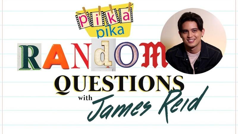 James Reid answers 15 Random Questions from Pikapika
