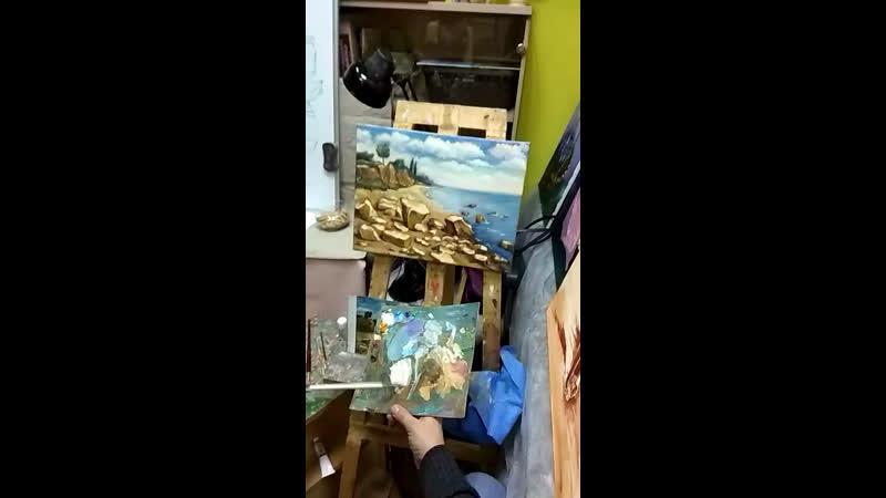 арт студия БК. Открой в себе Художника. Елена Морской берег