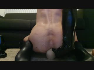 Butt plugs and rubber fists, -