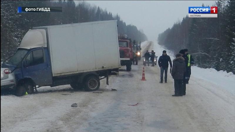 Рено попала под Газель в ДТП в Павинском районе погибли три человека