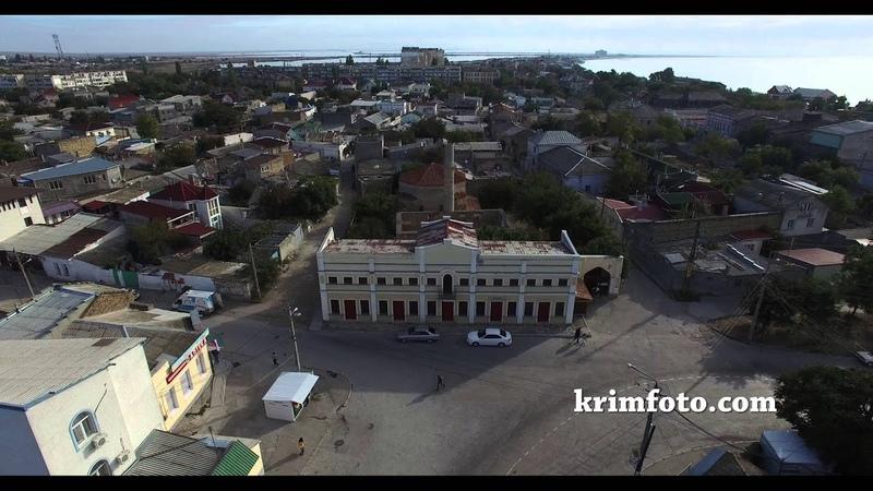 Текие Дервишей Евпатория Крым с высоты птичьего полета