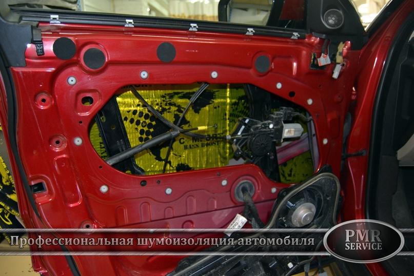 Комплексная шумоизоляция Land Rover Evoque, изображение №12