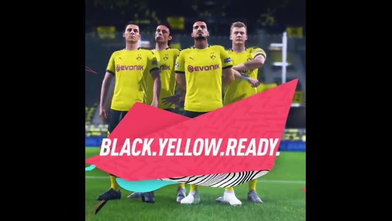 Borussia Dortmund в FIFA 20.