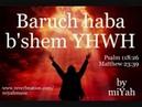 BARUCH HABA B'SHEM YAHWEH (Song) by miYah