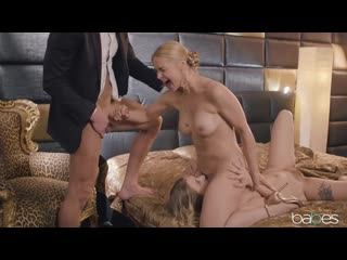 Giselle Palmer And Sarah Vandella - Work Cums First [All Sex, Hardcore, Blowjob, Gonzo]