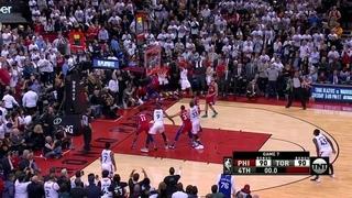 Kawhi Leonard sinks insane game-winning shot to end Sixers season | 2019 NBA Playoff Highlights · #coub, #коуб