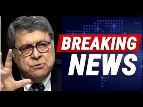 William Barr Put The Fear Of God In A Deep State Agent With One Announcement
