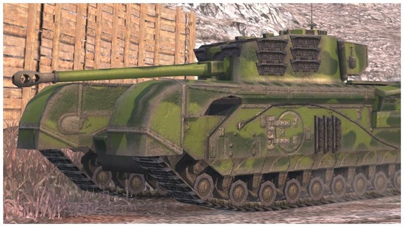 Churchill VII • 5.2К УРОНА • 7 ФРАГОВ • WoT Blitz Replay