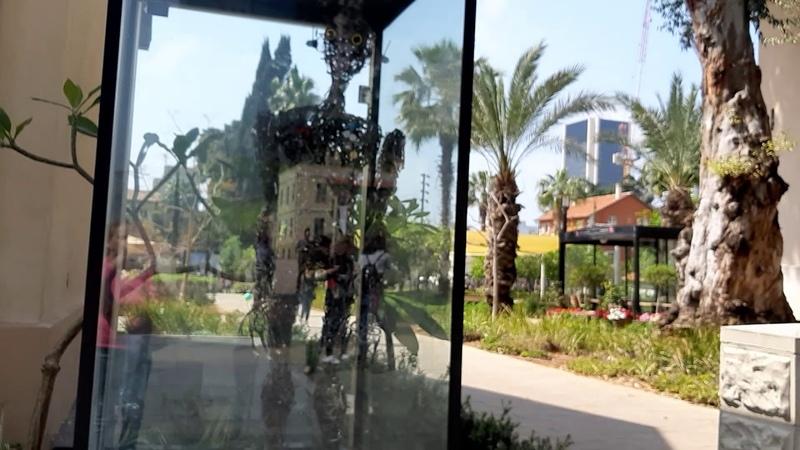 Tel Aviv Purim Sarona neighborhood Пурим в Тель Авиве Сарона