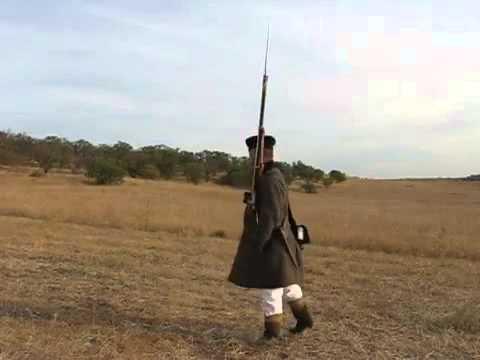 Ружейные приёмы русской пехоты 1855