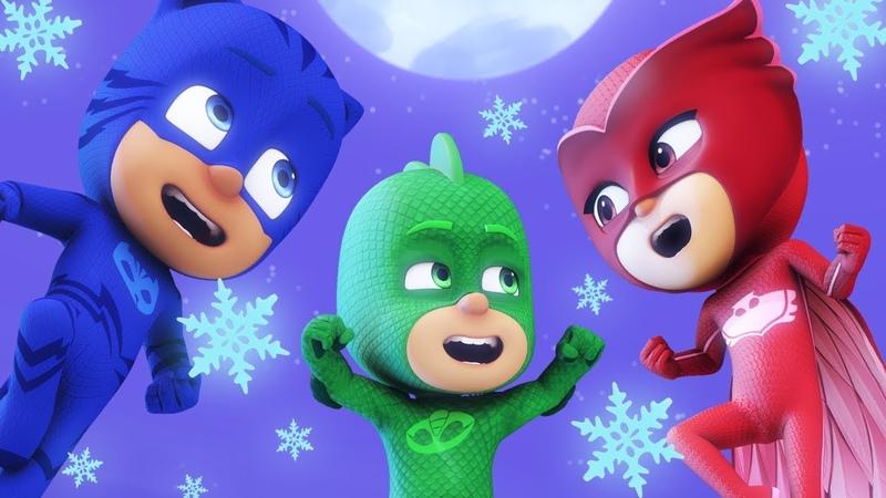 Герои в масках   Гекко спасает Рождество ❄️ Герои в масках Рождественский ❄️мультики для детей
