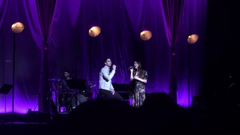 Darren Criss and Lea Michele- Getaway Car (LMDC Tour Manchester)