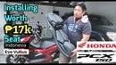 INSTALLING INDONESIAN SEAT FOR HONDA PCX MY EVO VULTUS ENGLISH SUB