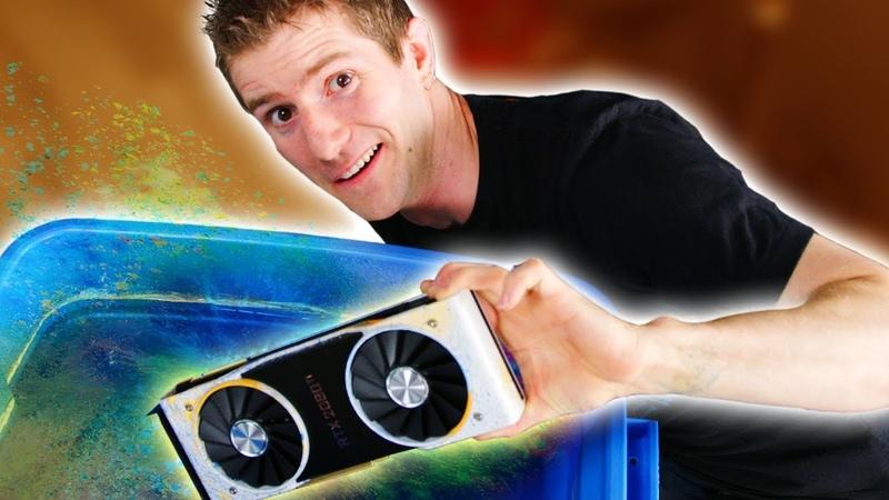 We Destr… Hydro Dipped a $1200 GPU!