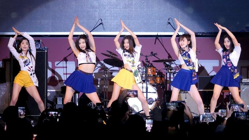 180916 레드벨벳 Red Velvet 파워업 Power Up 4K 직캠 Fancam 어제그린오늘 뮤직페스티벌 by Mera