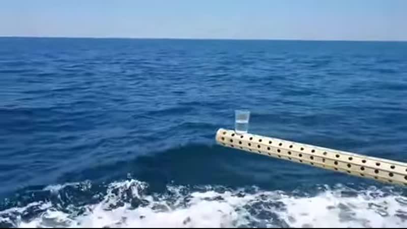 Стабилизация ствола орудия на корабле