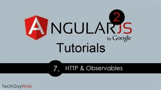 Angular 2 Tutorial [7] - HTTP and Observables