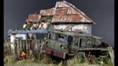 Post-apocalyptic Diorama Pripyat Chernobyl - 1 72 Model