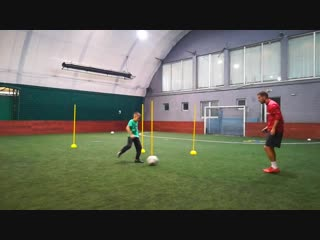 Passing, 1st touch  shooting drills (elite socer academy - serbia)