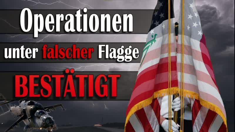 Dokumentarfilm NATO Operationen unter falscher Flagge bestätigt! www.kla.tv/13599