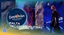 Christabelle - Taboo - Malta - LIVE - Second Semi-Final - Eurovision 2018