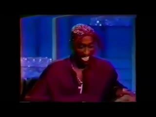"""2Pac на """"The Arsenio Hall Show"""" 8 марта 1994 года"""