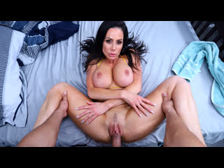 Kendra lust fucks her friends brother (milf, big tits, big ass, blowjob, black hair)