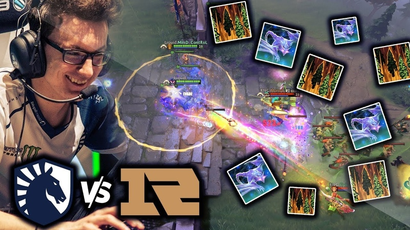 LIQUID Playing The Dirtiest Dota in 2019 vs RNG - Arc Warden Tiny Combo - Miracle Perspective TI9