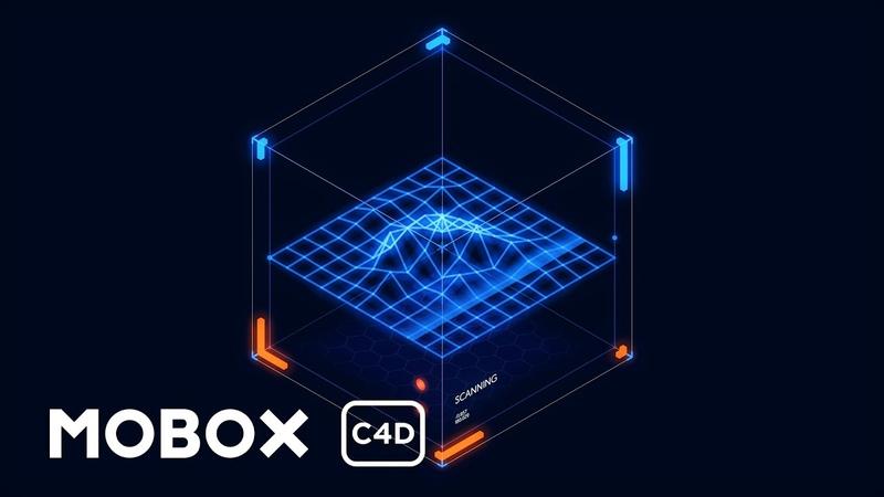 Dynamic Scifi HUD Element - Cinema 4D Tutorial