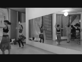 Танец в потоке - 10 - dance in flow fast  slow трайбл-практика @  just do tribal! 31 08 2018