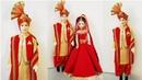 DIY Indian Traditional Bridegroom Male Doll Decoration/DIY Male Doll in Dhoti Kurta Jacket Stole