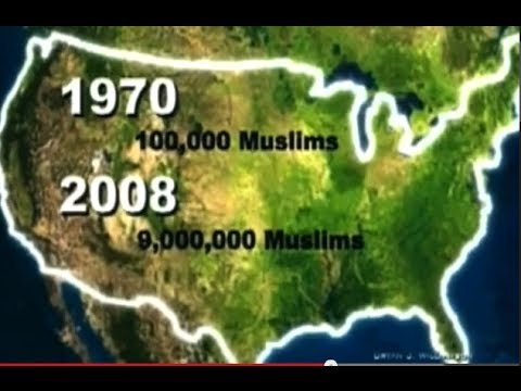 Muslims Are Taking Over The World at an ALARMING Rate MUSLIM IMMIGRATION