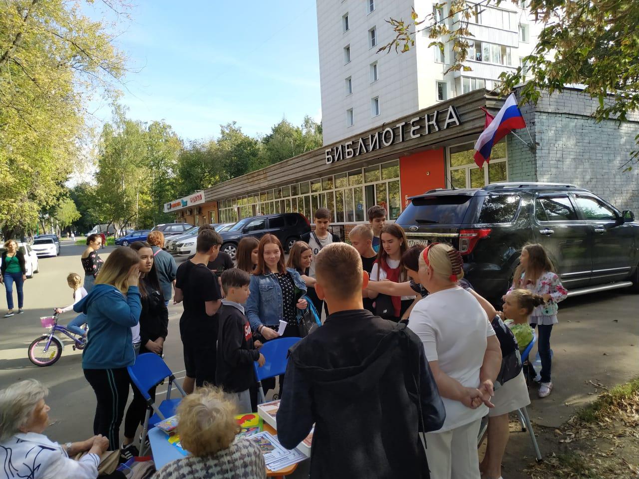 Спортивно-интеллектуальный марафон провели в библиотеке на Федора Полетаева