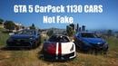 GTA 5 CarPack 1130 CARS REAL Не Фейк