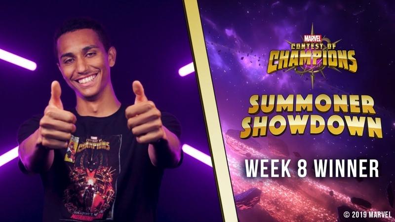 Marvel Contest of Champions Summoner Showdown Week 8 Winner