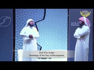 I cried 50 seconds into this video so beautiful nayef al sahafi & mansur al salimi