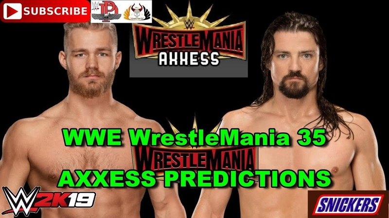 WWE WrestleMania 35 Axxess Cruiserweights Collide Tyler Bate vs The Brian Kendrick Predictions WW