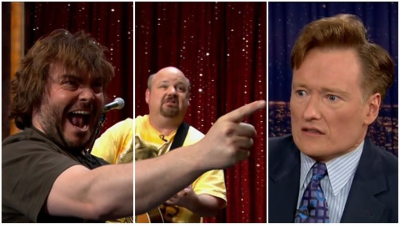 Tenacious D Master Exploder Late Night with Conan O'Brien