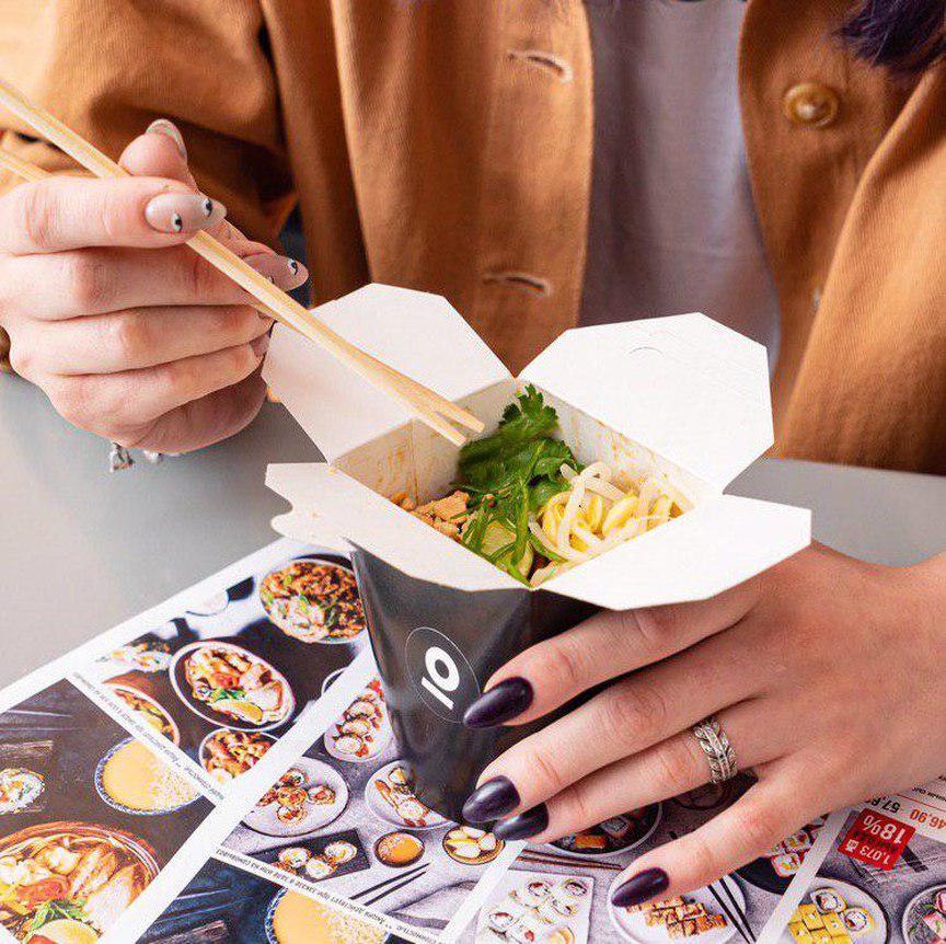 обед wok