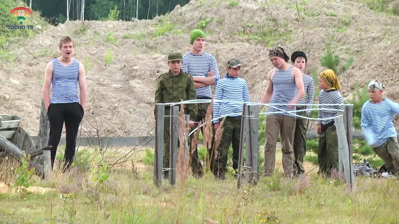 В д.Коркино, на территории военно-патриотического лагеря Сапсан, прошла Божественная литургия
