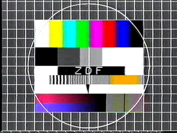 Testbild ZDF 1983