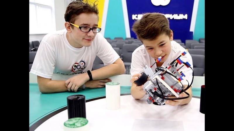 В Костроме прошли съемки первого этапа Битвы робототехников