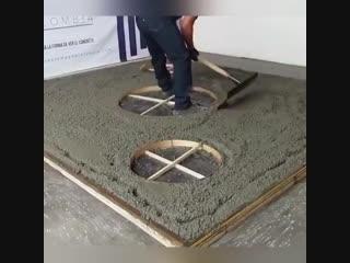 Видео пособие: образцово-показательная работа с бетоном