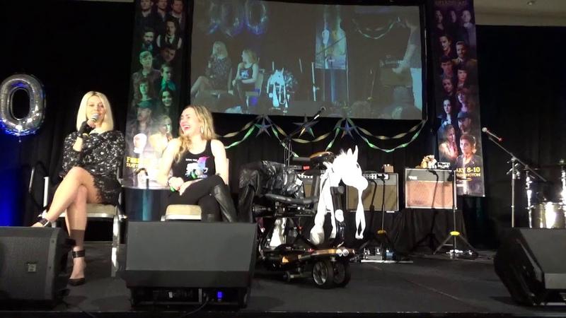 SPNSEA 2019 Alaina Huffman, Rachel Miner and Chad Lindberg Panel